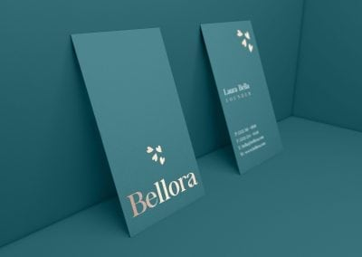 Bellora Business Card Design
