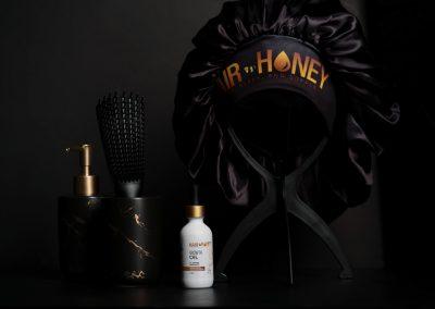 Hair Honey Website Redesign, Media, and Marketing